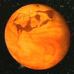 Arrakis - fiktivní pouštní planeta z románové série Duna Franka Herberta. Zdroj: Wikipedie.